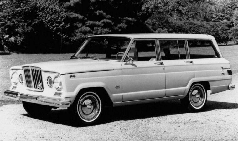 1963 Jeep Wagoneer Truck Picture