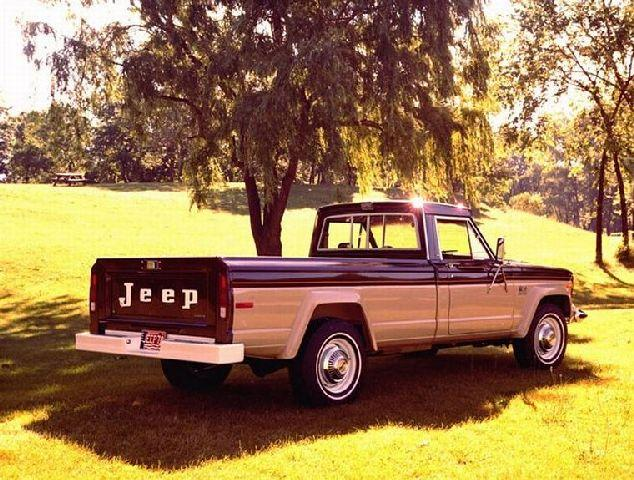1978 Jeep J-20 Pickup Truck Picture