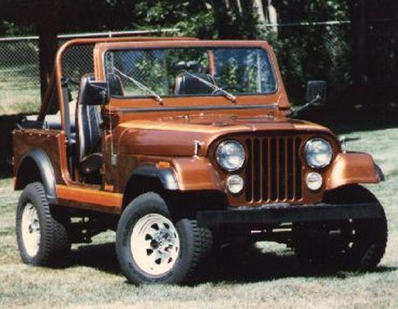1985 Jeep CJ7 Picture