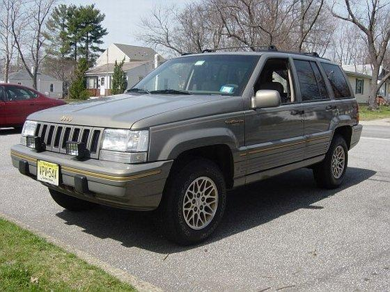 1995 Jeep Grand Cherokee Truck Picture