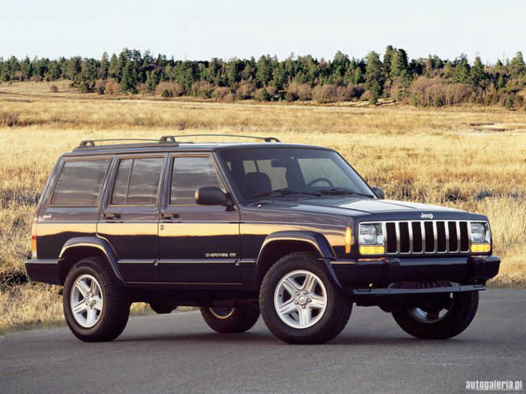 2001 Jeep Cherokee Limited Truck Picture