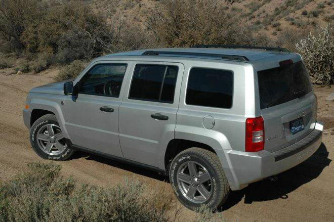 2007 Jeep Patriot Truck Picture
