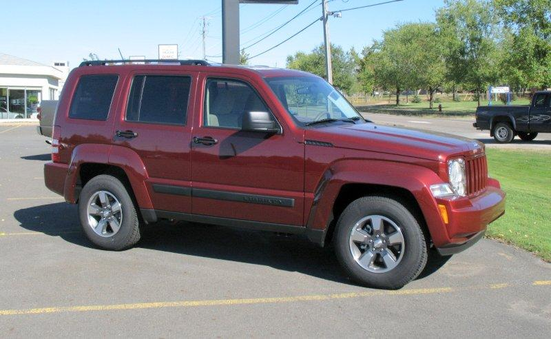 2008 Jeep Liberty Truck Picture