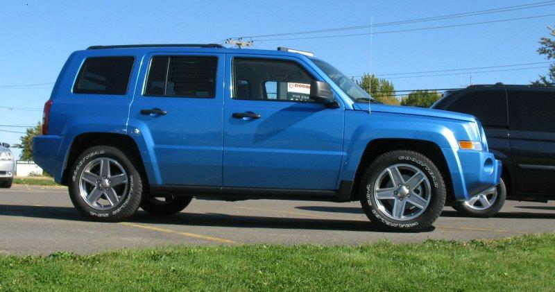 2008 Jeep Patriot North Truck Picture