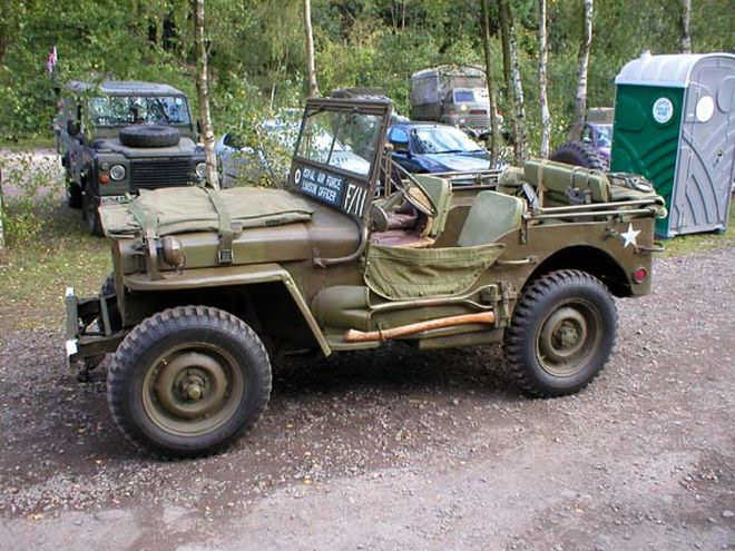 Military Jeep Picture