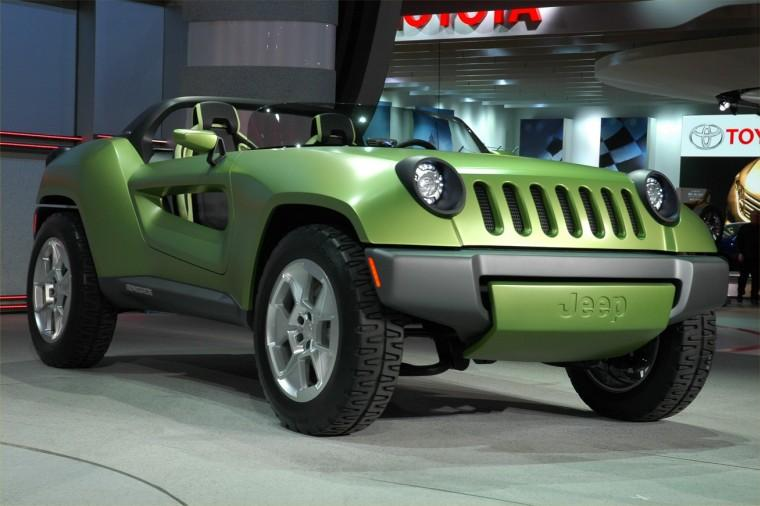 Jeep Renegade Concept CUV Picture