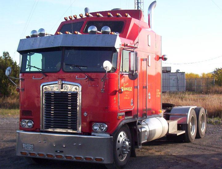 Front Left 1997 Kenworth K100 Truck Picture