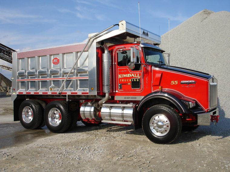 Kenworth RS Dump Truck Picture | Kenworth Truck Pictures