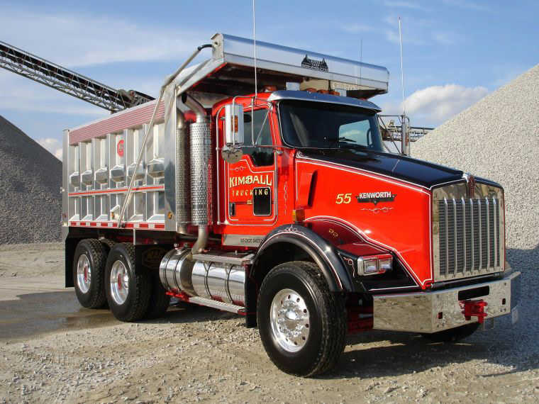 Kimball Trucking Kenworth Truck Picture