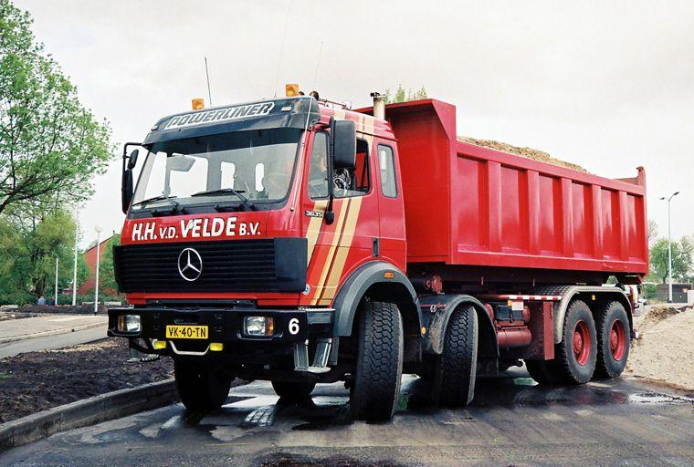 Front Left Mercedes-Benz Actros 3635 Truck Picture