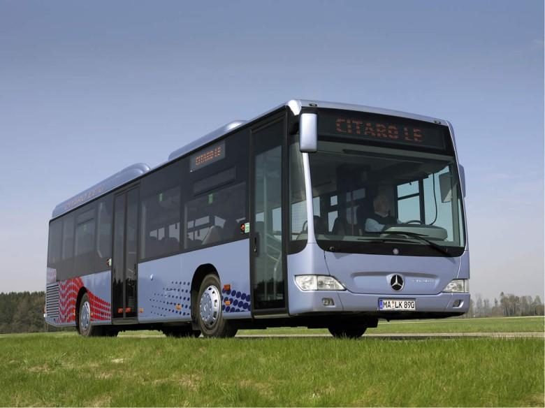 Front Right 2007 Mercedes-Benz Citaro Bus Picture