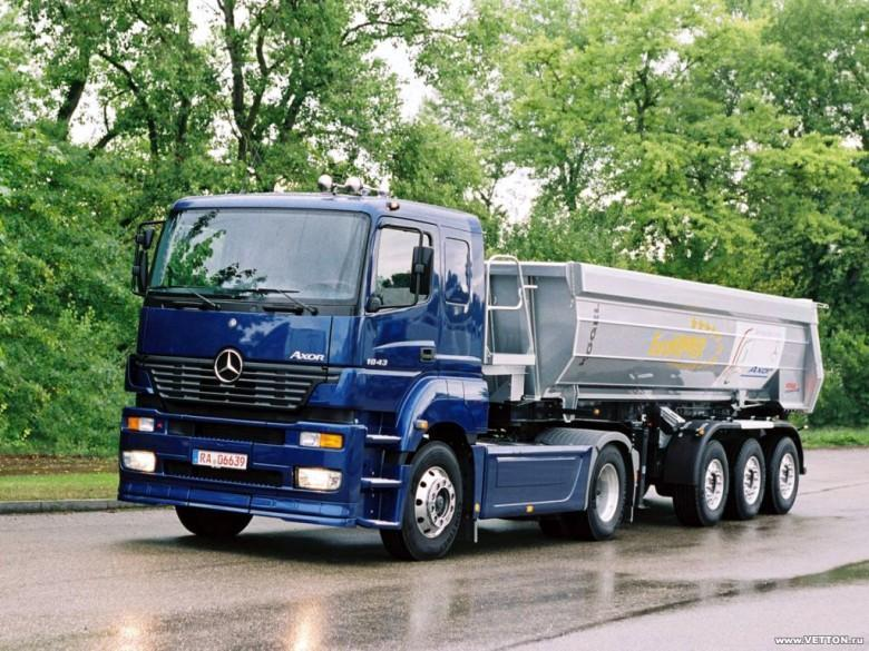 Front Left 2009 Mercedes-Benz Axor 1843 Truck Picture