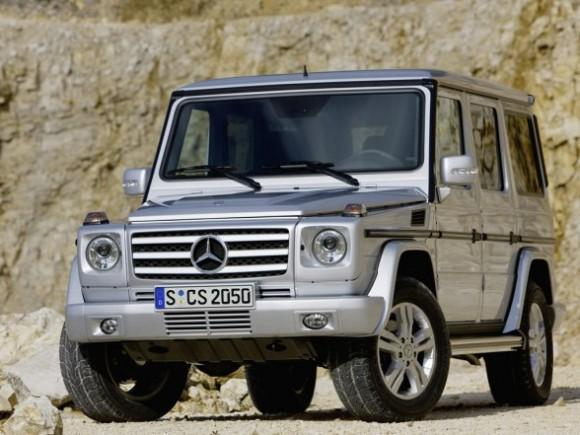 Front Left 2009 Mercedes-Benz G Class SUV Picture