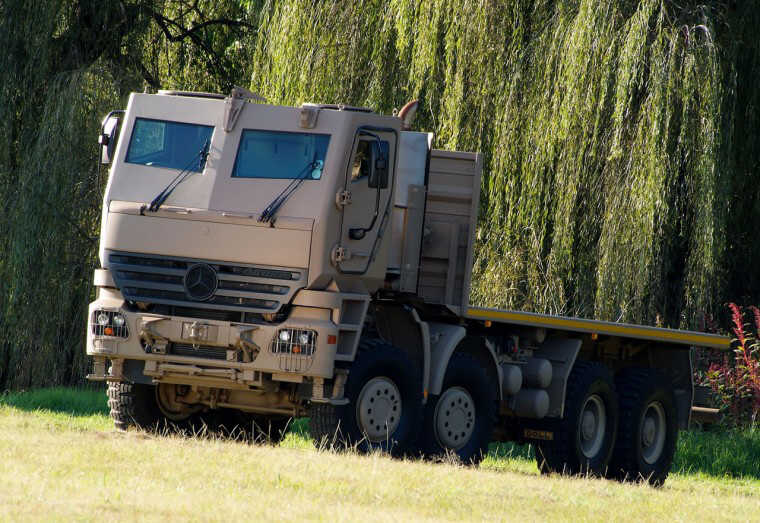 Mercedes-Benz Actros Armored Truck Picture