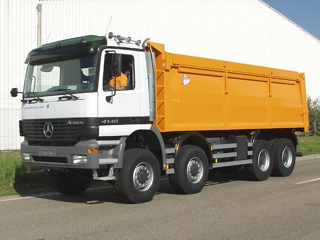 Mercedes-Benz Actros 4148 Truck Picture