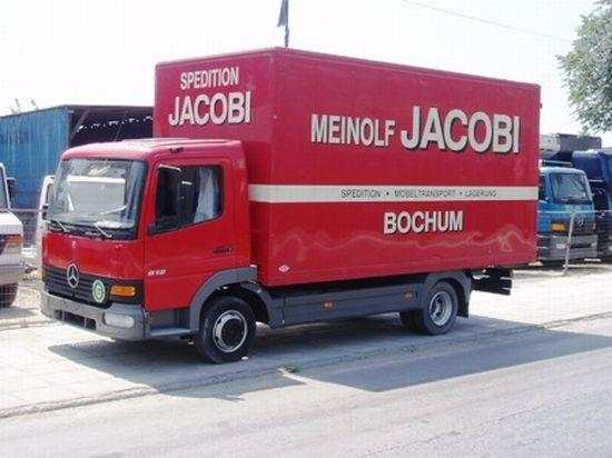 2000 Mercedes-Benz Atego 815 Truck Picture