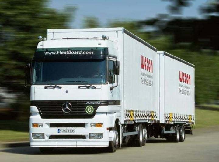 Mercedes-Benz Actros B Train Truck Picture