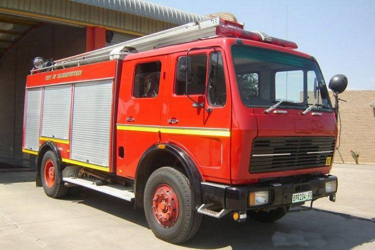 1977 Mercedes-Benz Fire Truck Picture