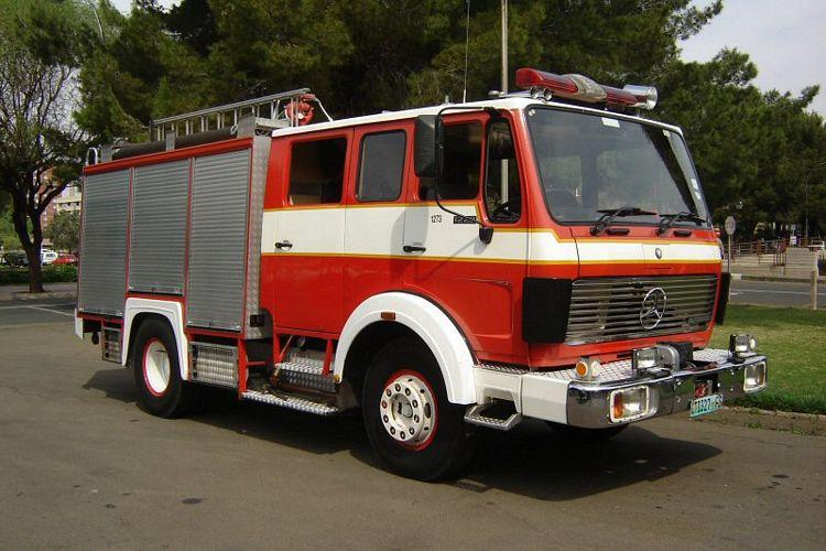 1988 Mercedes-Benz Fire Rescue Truck Picture