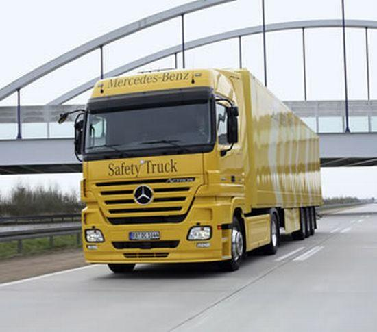 Mercedes-Benz Safety Truck Picture