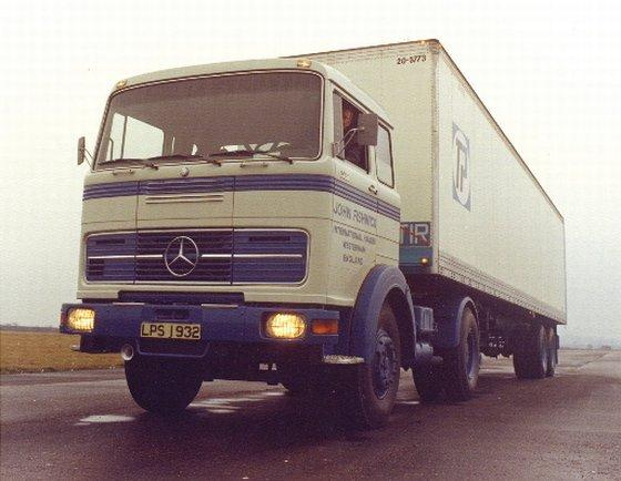 1974 Mercedes-Benz Truck Picture