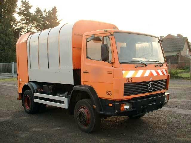 1988 Mercedes-Benz 1114 Truck Picture