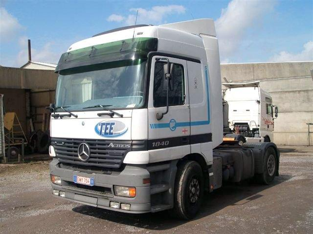 Mercedes-Benz Actros 1840 Truck Picture