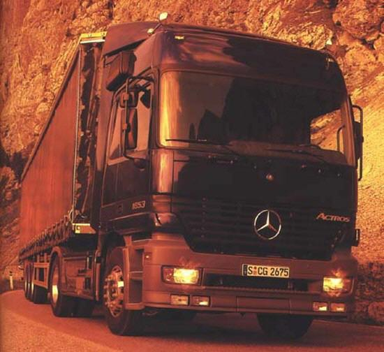 Mercedes-Benz Actros 1853 Truck Picture