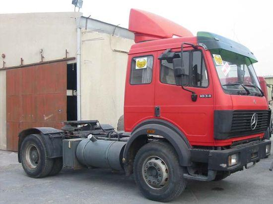 1992 Mercedes-Benz 1834 Truck Picture