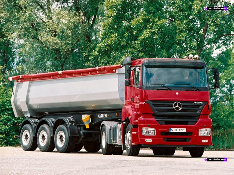 Front Right 2004 Mercedes-Benz Axor Truck Picture