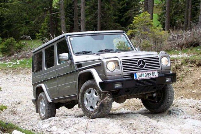 Mercedes-Benz G-Wagon SUV Picture