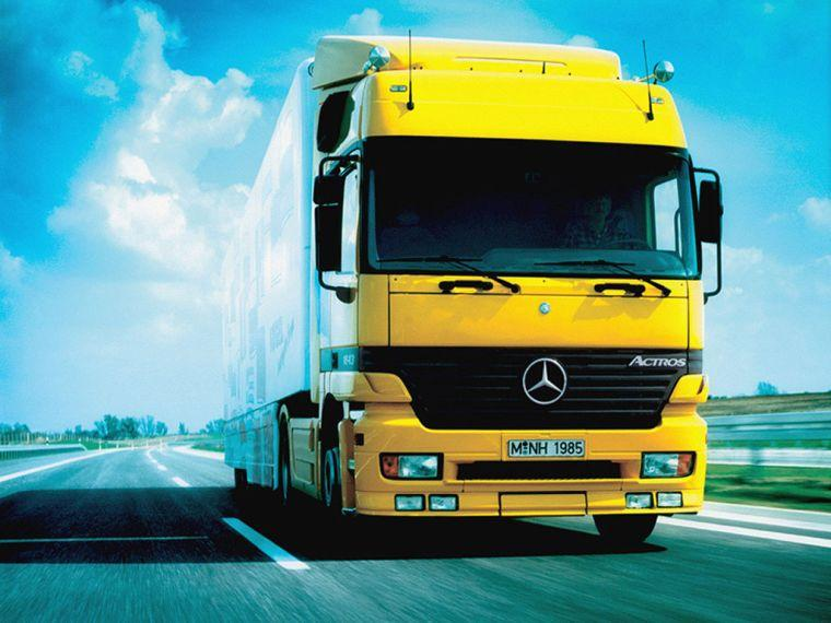 Mercedes-Benz Actros Truck Picture