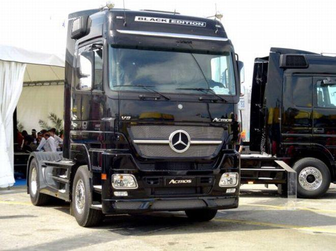 Mercedes-Benz Actros TR6 Truck Picture