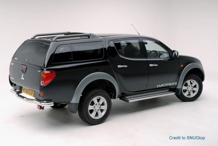Right Rear 2009 Mitsubishi L200 Truck Picture