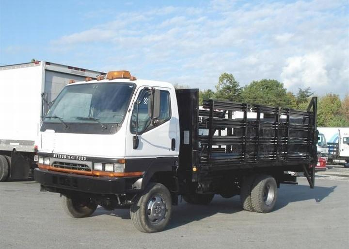 Front Left 2001 Mitsubishi FG Stake Truck Picture