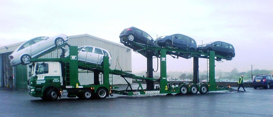 DAF 420 Car Transporter Truck Picture