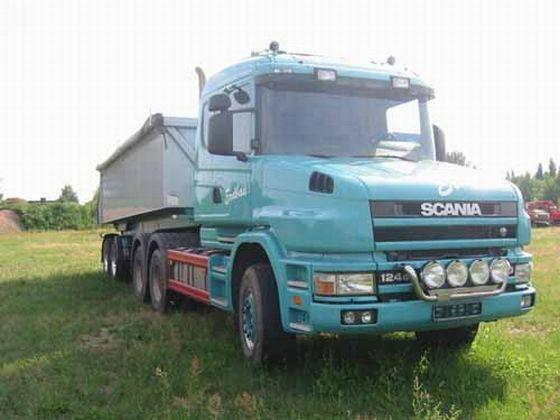 Scania 124G Truck Picture