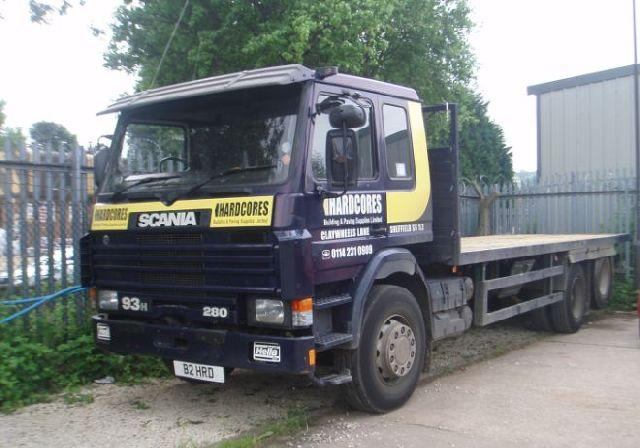 Scania P93 Flatbed Truck Picture