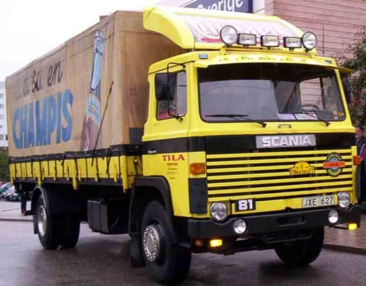 1977 Scania LB81 Truck Picture