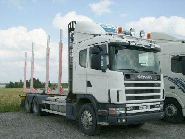 1999 Scania R124GB Truck Picture
