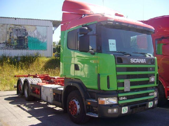 2001 Scania R124 Truck Picture