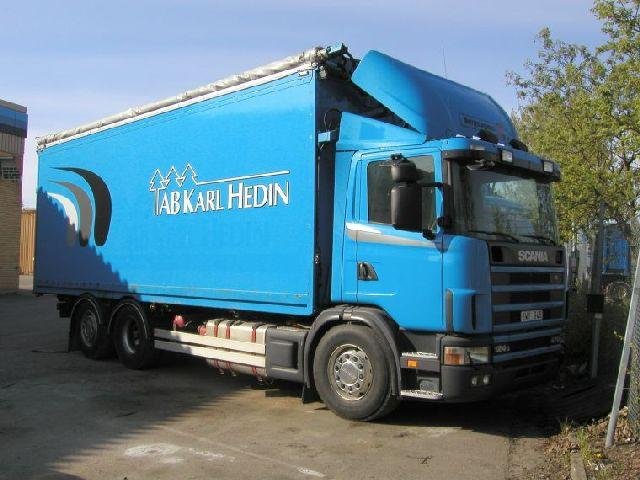 2002 Scania R124GB Truck Picture