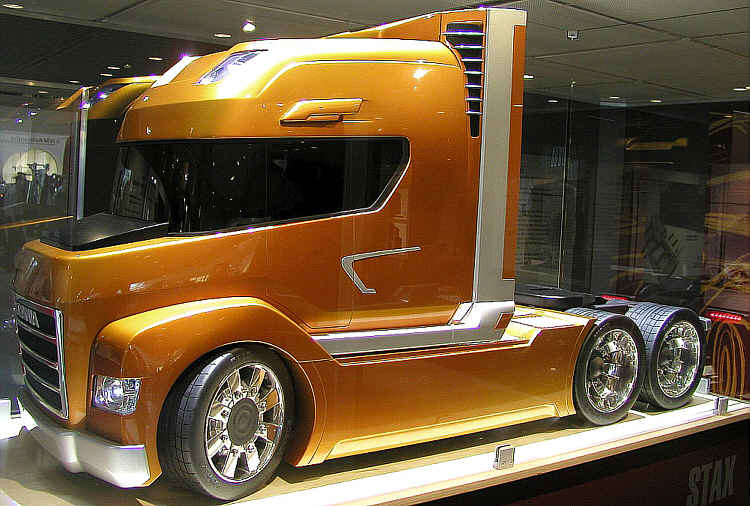 Left Side 2002 Scania Concept Truck Picture