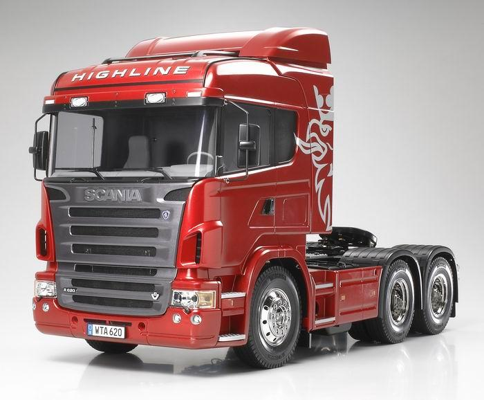 Front Left 2008 Scania R620 Truck Picture