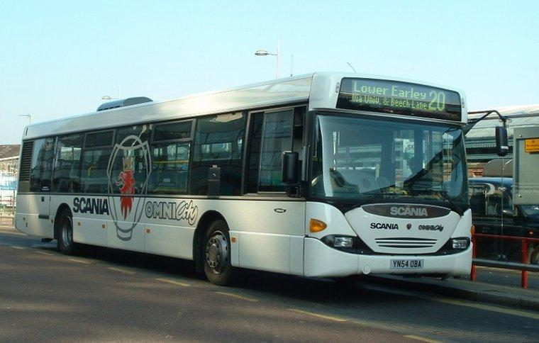 Scania Omni City Demonstrator Bus Picture