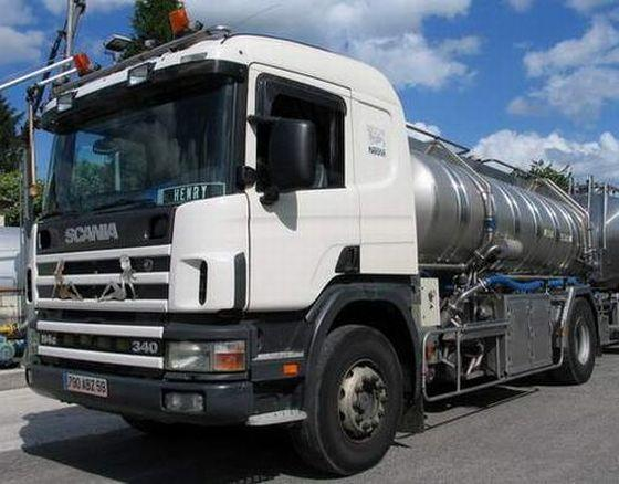 Scania P114 Tanker Truck Picture