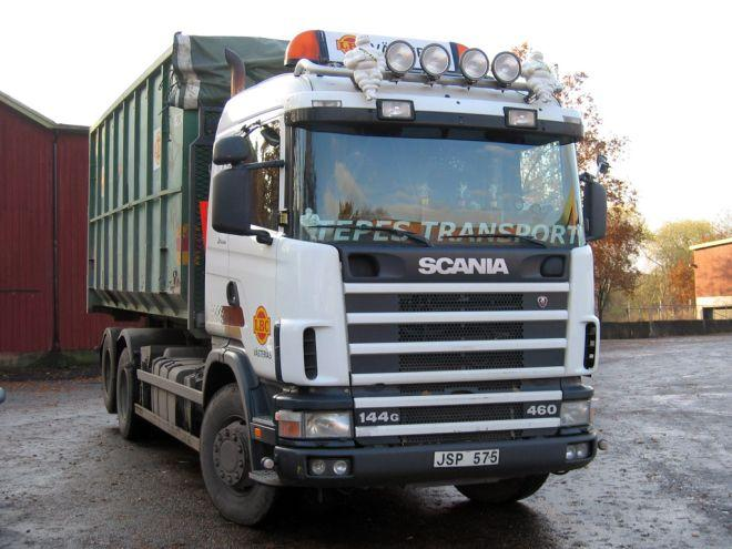 1998 Scania 144G Truck Picture