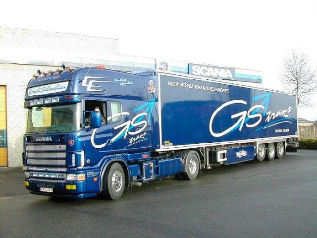 Scania Belgium Long Line Truck Picture
