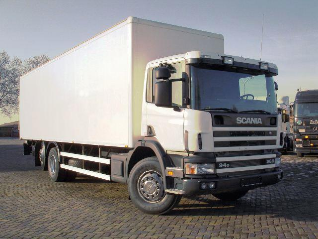 2003 Scania P94 Truck Picture