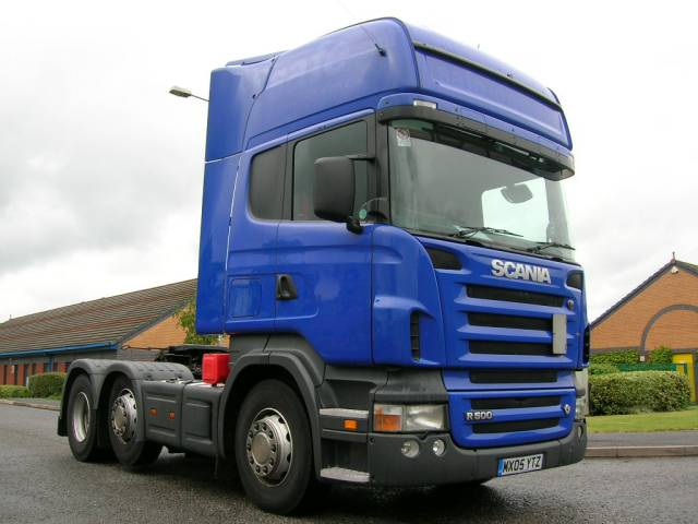 2005 Scania R500 Truck Picture